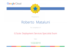 google deployment specialist