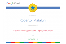 google meeting solution deployment